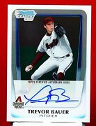 2011 Bowman Chrome Trevor Bauer