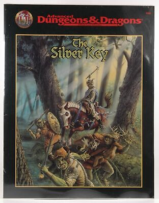 The Silver Key (AD&D Fantasy Roleplaying Adventure) Ted James Thomas Zuvich AD&D