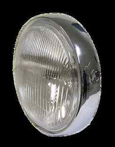 Kawasaki KH250 Headlight Rim & Reflector with parking light