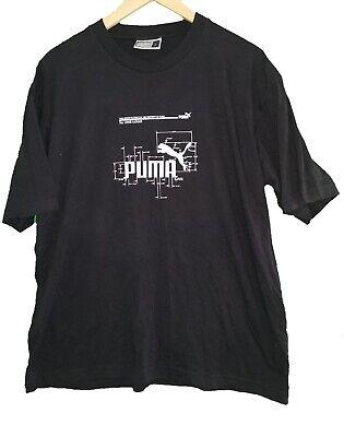 PUMA BLACK T-SHIRT - Size Large