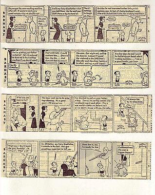 Barnaby by Crockett Johnson - 14 scarce daily comic strips from May 1947