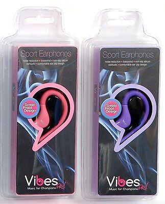 Best In Ear Hook Headphones Sports Earphones Running Vibes Music אוזניות ספורט
