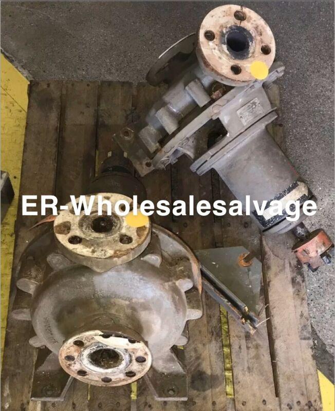 Lot Of 2 Flowserve Pump Model 0814-2X1.5X9F 🔥🔥