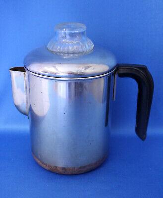Older vtg REVERE WARE Percolator SS COFFEE POT Rare RIVERSIDE CAL.Process Patent - Older Coffee Pot