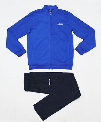 Warm Up Suits (NWT ADIDAS Men's Blue-Black Warm-Up Tricot Track Suit Set Jacket & Pants)