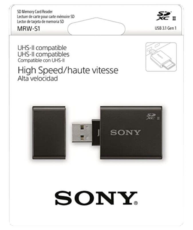 Sony SD UHS-II USB Reader/Writer - MRW-S1