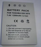 Batteria Per Toshiba Gsc-bt5 Bt5 Gigashot R30 R60 Batteria Accu Nuovo - toshiba - ebay.it