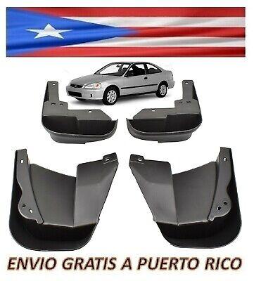 For 96 00 Honda Civic Sedan Coupe Mud Flaps Front Rear Splash Guards Mudguards