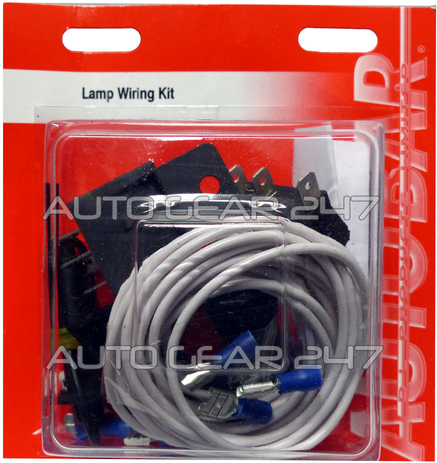 Car Van 12v Driving Fog Lamps Lights Relay Switch Connectors Wiring ...
