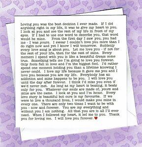 ROMANTIC CARD WIFE HUSBAND GIRLFRIEND BOYFRIEND PARTNER ANNIVERSARY BIRTHDAY
