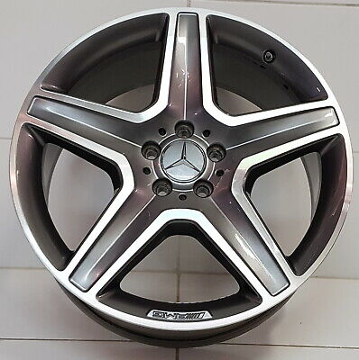 1x Original Mercedes GLE W166 AMG Felge ML W166 A1664012002 9Jx20 ET57 TOP!!!