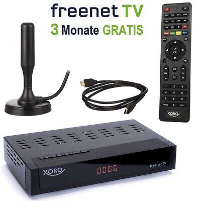 DVB-T2 Receiver Xoro HRT 8729 Freenet TV digital Full HD alternativ 8720 / 8730