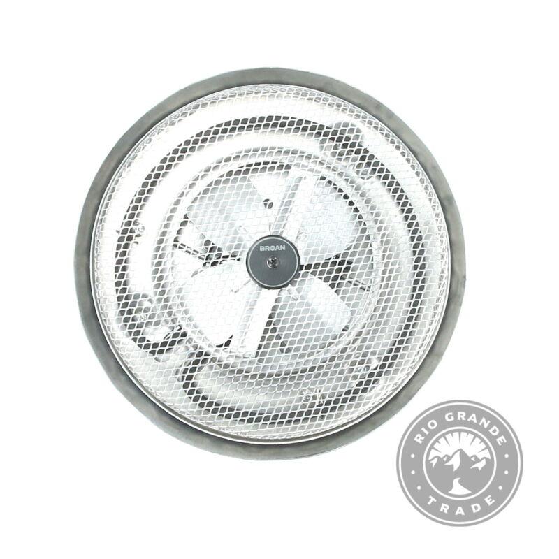 NEW Broan-NuTone 157 Low-Profile Fan-Forced Ceiling Heater - Satin Aluminum