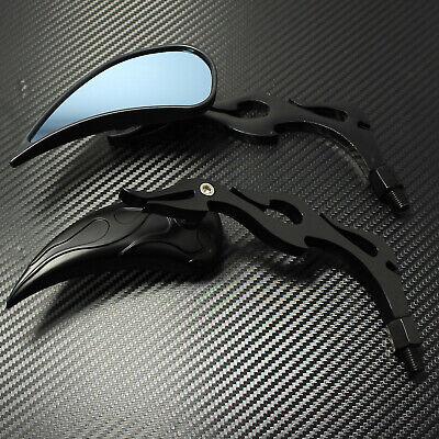 Black Motorcycle Teardrop Mirrors For Harley-Davidson Sportster 1200 Nightster - Harley Davidson Sportster 1200 Nightster