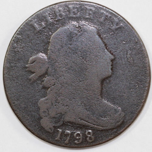 1798 1c S-176 Draped Bust Large Cent