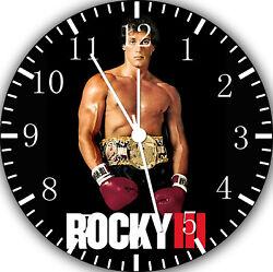 Rocky Balboa wall Clock 10 will be nice Gift and Room wall Decor E38