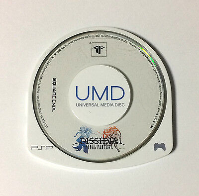 USED PSP Disc Only Dissidia Final Fantasy JAPAN Sony PlayStation Portable import