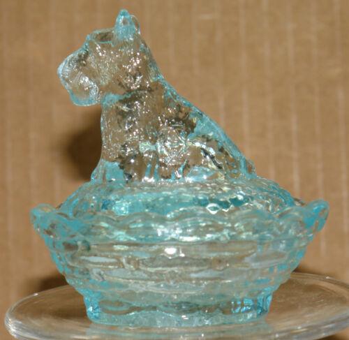 Boyd Glass Scottie Salt Honeymoon Blue