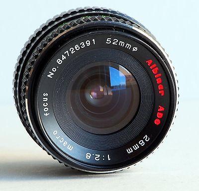 Minolta Mc Md Mount F 2 8 28Mm Wide Angle Lens X 370 X570 X700 Xg7 Xd Srt Tested