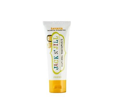 - [Jack N' Jill] Natural Toothpaste for Baby, Banana (1.76 oz)