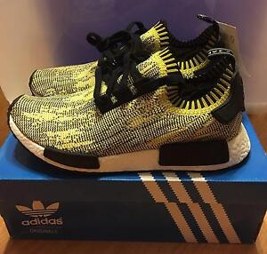 Adidas NMD Yellow Camo PK US10 Winthrop Melville Area Preview