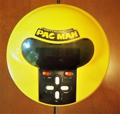 TOMYTRONIC- TOMY PAC MAN Electronic Arcade Handheld Tabletop Video Game