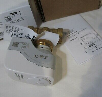 Siemens Ssa16u 245-00210 Zone Valve Actuator 12 24v Two-way Normally Closed