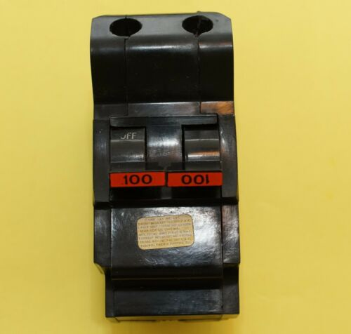 Federal Pacific 100A Stab-Lok Main Breaker (Used)