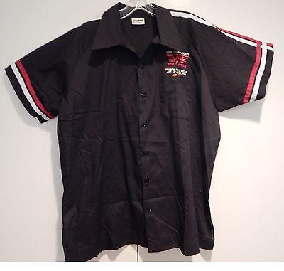 Mint Van Halen Black 1986 5150 Concert Meadowlands Crew Shirt Unworn Large