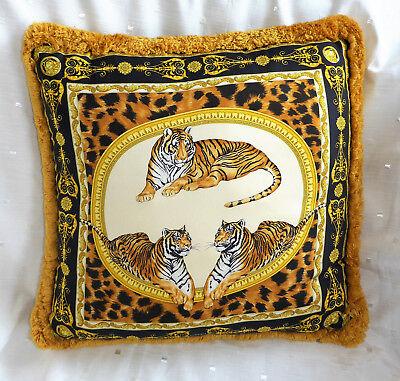 Versace Tiger Cushion