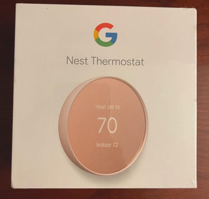 Nest Thermostat Model G4CVZ, Sand (Brand New, Unopened)