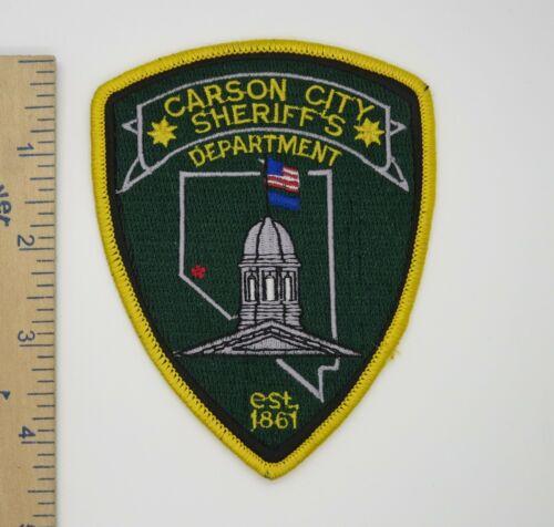 CARSON CITY NEVADA SHERIFF