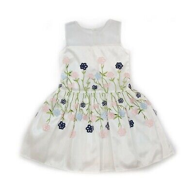 Tulle Little Girl Dresses (Frais Flower Sew-on Tulle Dress Little Girl's)
