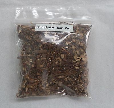 Mandrake Root Herb: 2 Oz Bag  (American) (Podophyllum peltatum) Wicca Pagan