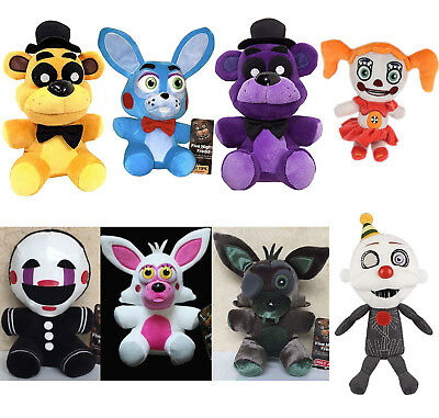 Fnaf Five Nights At Freddys Sanshee Plushie Toy 6  Plush Bear Foxy Xmas Gift