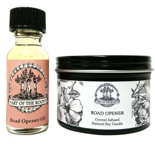 Road Opener Spell Kit Beginnings Success Obstacles Wiccan Pagan Hoodoo Conjure