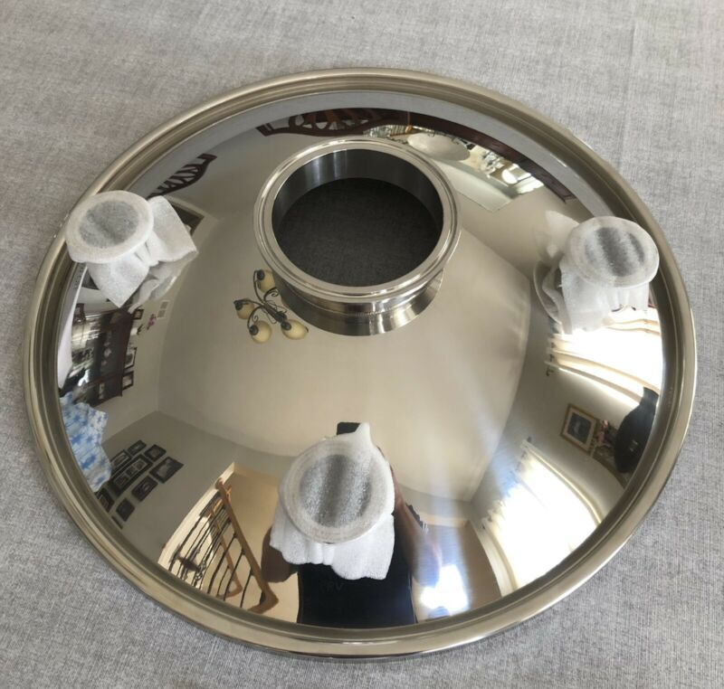 Spike Brewing 3 port Stainless  Conical Fermenter Lid for CF15 (Brand New)