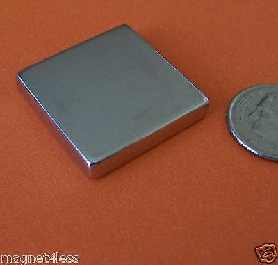 2 Strong Grade N45 1x1x14 Inch Rare Earth Neodymium Block Magnet