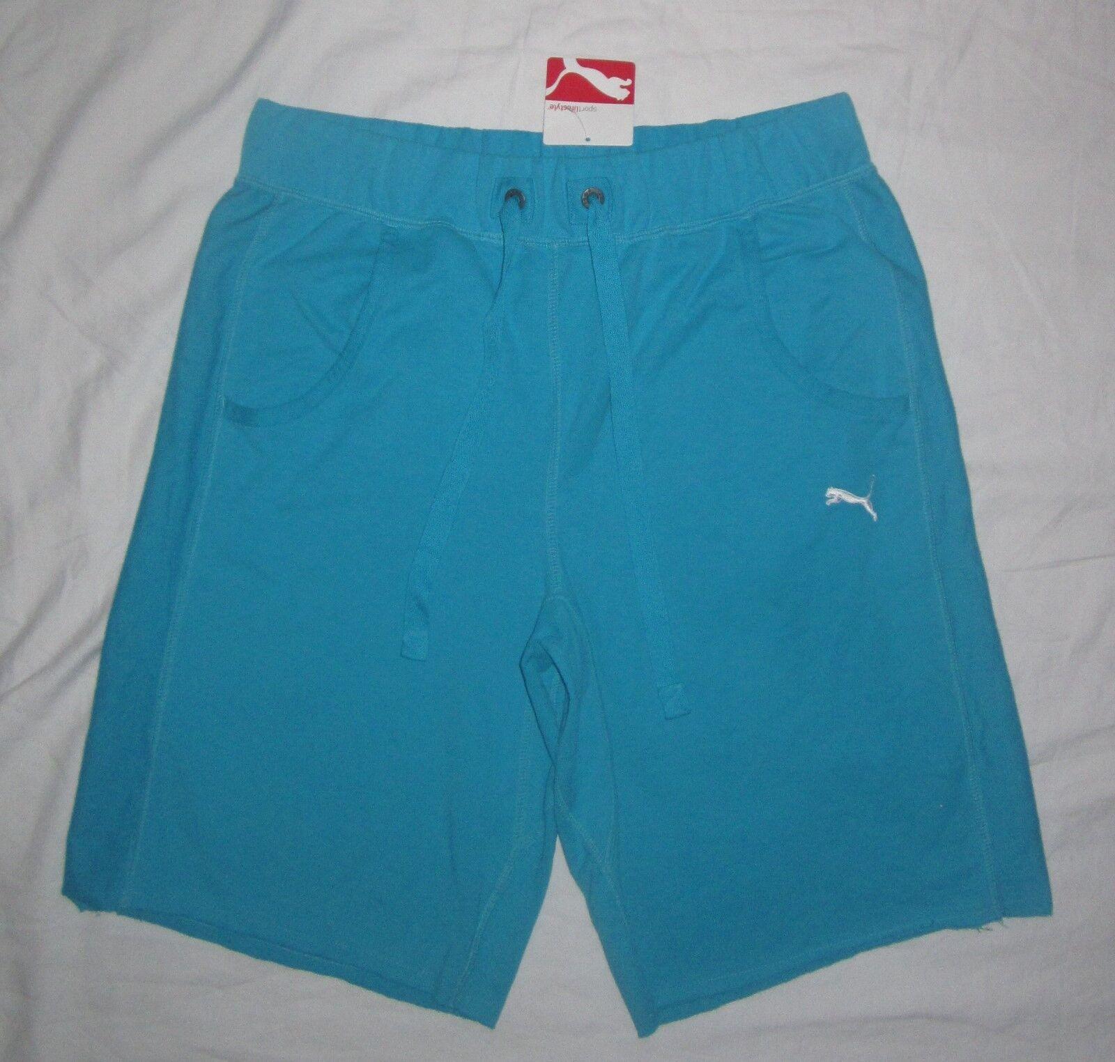 "NWT Mens PUMA 10"" Lifestyle Sweat Shorts 586424 - size S or"