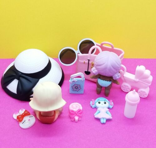 LOL SURPRISE Lil Sisters AS IF BABY BIG CITY B.B. MGA UNUSED ACCESSORIES  - $19.19