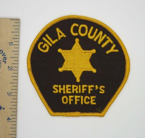 GILA COUNTY ARIZONA SHERIFF