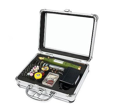 Maletin Kit Micro Drill Grinder Taladro Amoladora Electrico 80 accesorios 4498