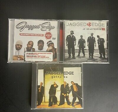 JAGGED EDGE CD Lot Of 3: Ultimate Collection - J.E. Heartbreak - Gotta Be