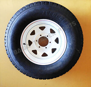 SUNRAYSIA-WHITE-16-6-STUD-LANDCRUISER-WITH-245R16-LT-TYRE-Trailer-Parts