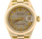 Rolex Rolex Lady-Datejust Silver Case Wristwatches