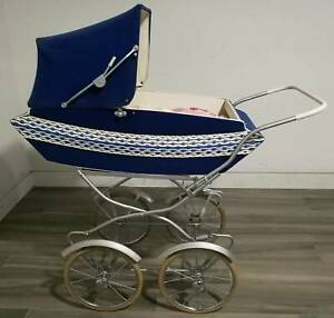 Vintage Pram Stroller To Use Or Doll Display Prams Strollers