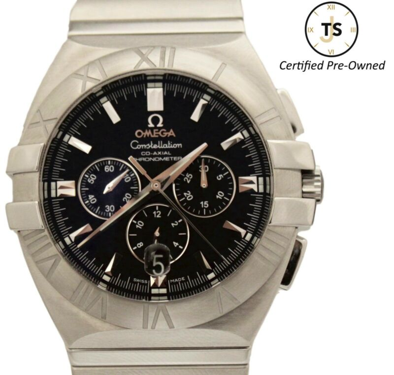 fc55b711ad5 Omega Constellation Double Eagle Chronograph Co-Axial Automatic 1514.51.00  Watch