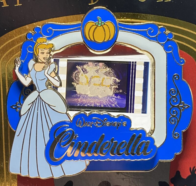 A Piece of Disney Movies Cinderella Mice Turned Into Horses Pin LE 2000 PODM