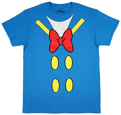 Men Disney Costume (Disney Donald Duck Shirt Men's I Am Donald Costume Adult Licensed)