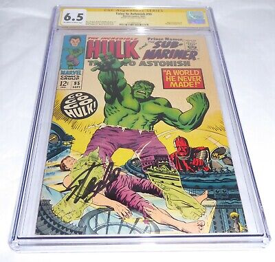 Tales to Astonish #95 High Evolutionary CGC Signature Series Autograph STAN LEE